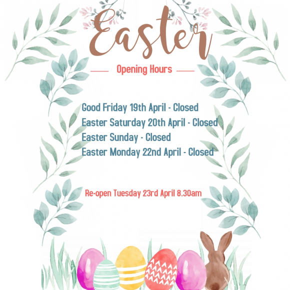 Easter Long Weekend Opening Hours